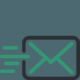 Preposielanie pošty - ikona